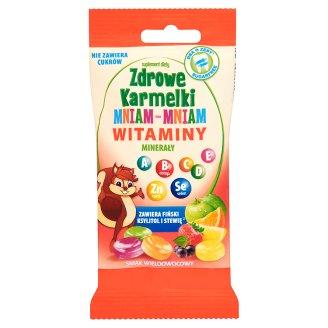 Starpharma Zdrowe Karmelki Mniam-Mniam witaminy minerały Suplement diety 40 g