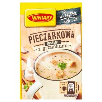 Winiary Smaczna zupa Pieczarkowa z grzankami 14 g