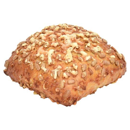 Bułka z mąką kukurydzianą ze słonecznikiem i serem 55 g