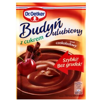 Dr. Oetker Chocolate Flavoured Pudding with Sugar 80 g