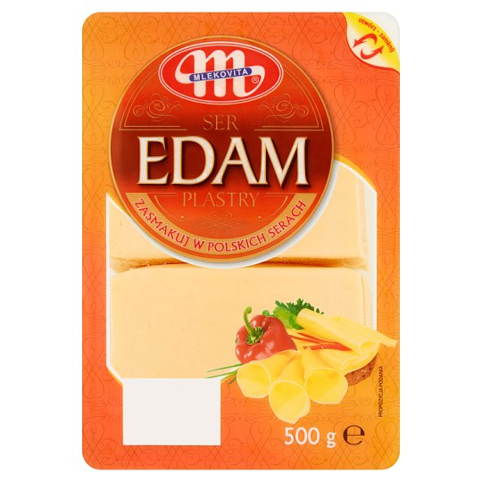 Mlekovita Edam Cheese Slices 500 g
