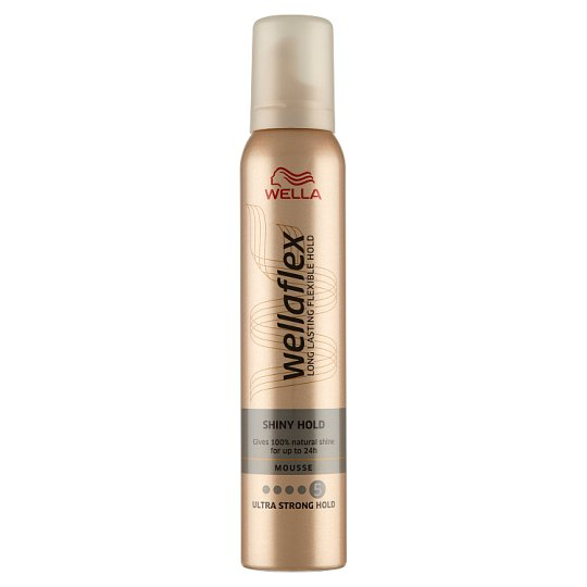 Wella Wellaflex Shiny Hold Mousse 200 ml
