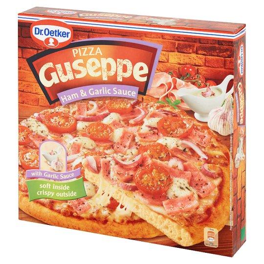 Dr. Oetker Guseppe Pizza z szynką i sosem czosnkowym 440 g