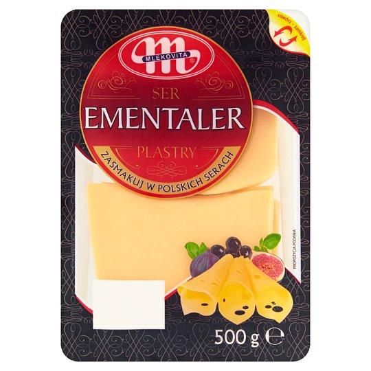 Mlekovita Sliced Ementaler Cheese 500 g