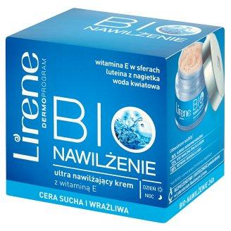 Lirene Bio Nawilżenie Ultra nawilżający krem z witaminą E na dzień i na noc 50 ml
