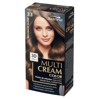 Joanna Multi Cream color Hair Colorant 33 Natural Blond