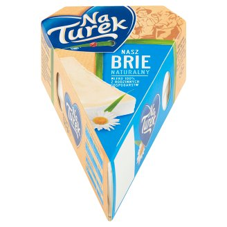 NaTurek Nasz Brie Natural Cheese 125 g