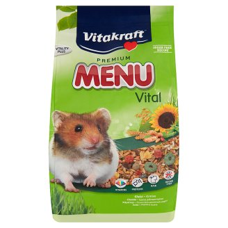 Vitakraft Premium Menu Vital Complete Pet Food for Hamsters 1 kg
