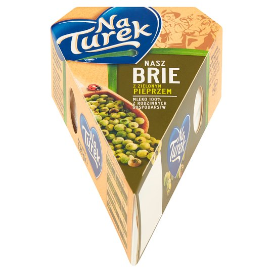 NaTurek Nasz Brie with Green Pepper Cheese 125 g