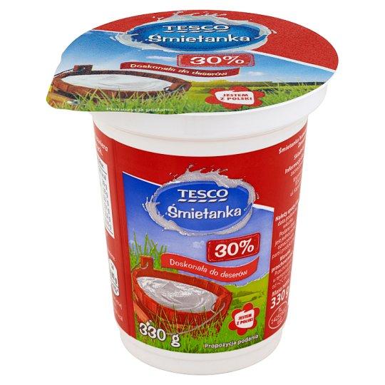 Tesco 30% Cream 330 g