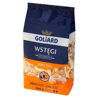 Goliard Wstęgi Egg Noodles 400 g