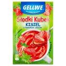 Gellwe Słodki Kubek Kisiel z kawałkami owoców truskawka 30 g