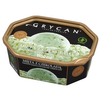 Grycan Mint Flavoured with Chocolate Chips Ice Cream 1100 ml
