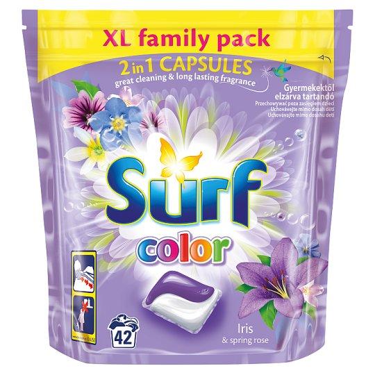 Surf Color Iris & Spring Rose Kapsułki do prania 1012 g (42 sztuki)