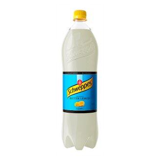Schweppes Bitter Lemon Sparkling Drink 1.4 L