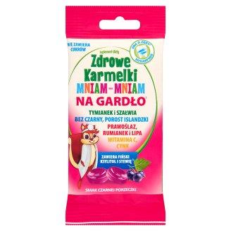Starpharma Zdrowe Karmelki Mniam-Mniam na gardło Suplement diety 40 g