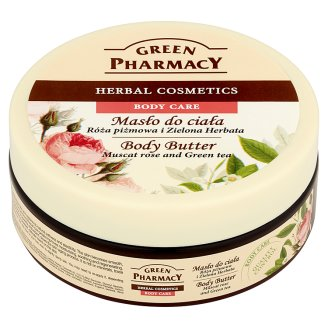 Green Pharmacy Body Butter Muscat Rose and Green Tea 200 ml