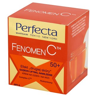 Perfecta Fenomen C 50+ Deep Lifting Moisturizing Day and Night Cream 50 ml