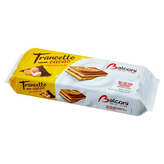 Balconi Trancetto al Cacao Magro Torcik kakaowy 280 g (10 sztuk)