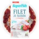 SuperFish Filety ze śledzia z żurawiną 200 g
