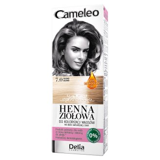 Delia Cosmetics Cameleo Coloring Hair Herbal Henna 7.0 Blonde 75 g