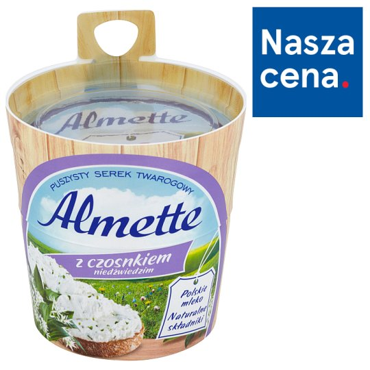 Almette with Bear's Garlic Fluffy Cottage Cheese 150 g