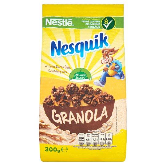 Nestlé Nesquik Granola Chocolate Flavour Cereal 300 g