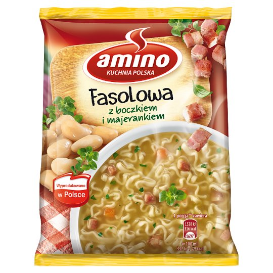 Amino Bean with Bacon and Marjoram Instant Soup 61 g