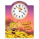 Zabawa z zegarem Pszczółka Maja Książka Dzień na łące