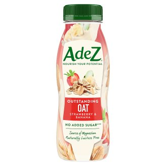 Adez Strawberry & Banana Oat Drink 250 ml