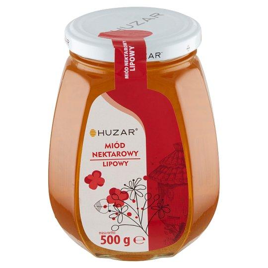 Huzar Miód pszczeli nektarowy lipowy 500 g