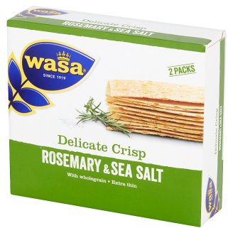 Wasa Delicate Crisp with Rosemary & Salt 190 g