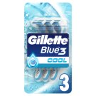 Gillette Blue3 Cool Men's 3-Bladed Disposable Razor, 3 Pack