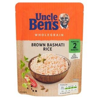 Uncle Ben's Wholegrain Brown Basmati Rice 250 g