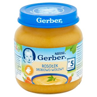 Gerber Chicken and Beef Broth after 5 Months Onwards 125 g