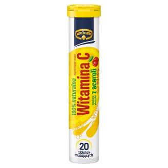 Krüger Suplement diety witamina C z aceroli 84 g (20 sztuk)
