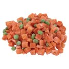 Diced Carrots and Peas