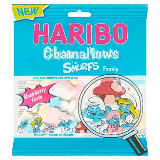 Haribo Chamallows Smurfs Marschmallow 100 g