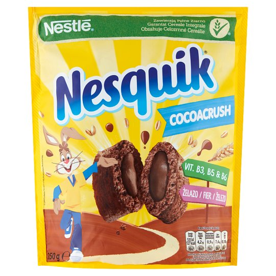 Nestlé Nesquik CocoaCrush Breakfast Cereals 350 g