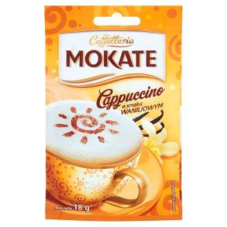 Mokate Caffetteria Cappuccino o smaku waniliowym 18 g