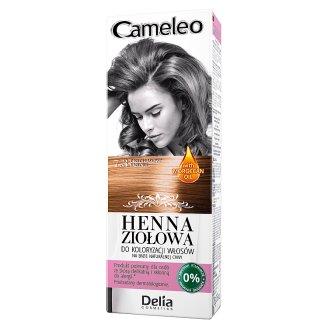 Delia Cosmetics Cameleo Henna ziołowa do koloryzacji włosów 7.3 orzech laskowy 75 g