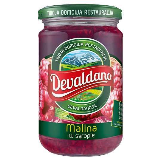 Devaldano Raspberry in Syrup 290 g