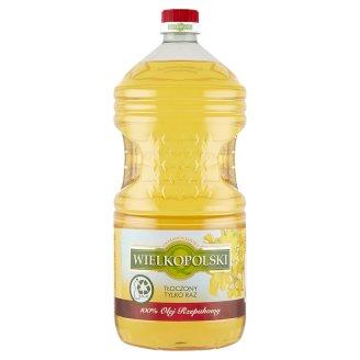 Wielkopolski 100% Olej rzepakowy 3 l