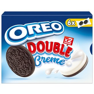 Oreo Double Cocoa Flavoured Sandwich Biscuits 170 g (12 Pieces)