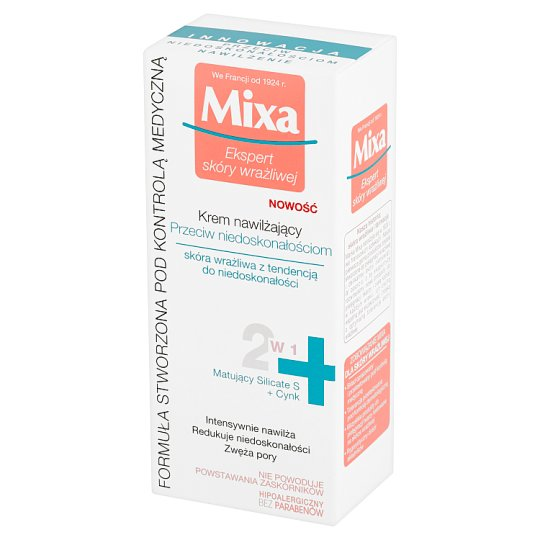 Mixa Anti-imperfections Moisturising Cream 50 ml