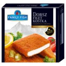 Family Fish Breaded Cod Fillet Fish Cube 400 g