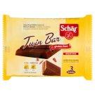Schär Twin Bar Bezglutenowe wafelki w czekoladzie 64,5 g (3 sztuki)