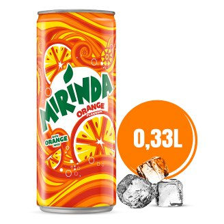 Mirinda Orange Carbonated Drink 330 ml