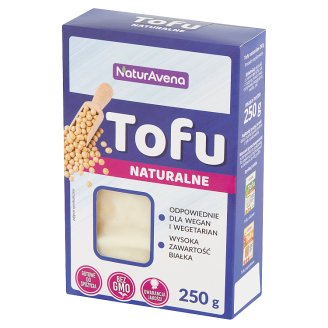 NaturAvena Natural Tofu 250 g