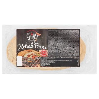 Grill party Bułki do kebaba 320 g (4 sztuki)